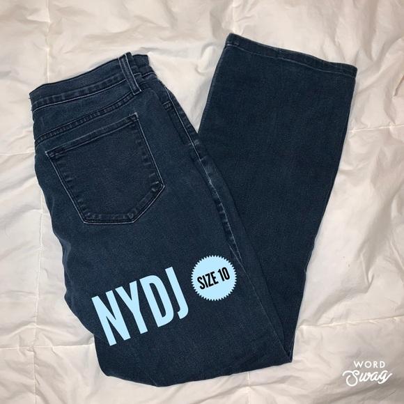 NYDJ Denim - NYDJ Not your daughter's jeans Sz 10 Straight Leg